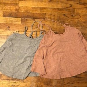 Two Free People tank tops